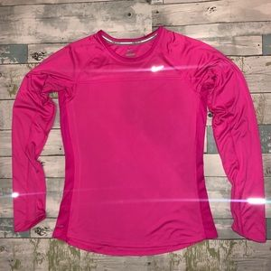 Nike Women's Pink Active Long Sleeve Size M